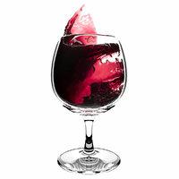 3D splash wineglass 2