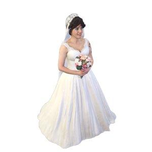 3D model scanned bride
