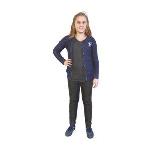 scanned girl standing model