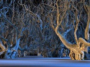 spooky tree 3D
