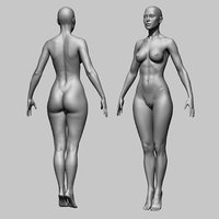 Woman Girl Female Body