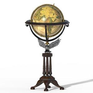 old globes 3D model