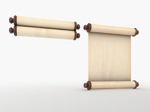 scroll mitzvah 3D
