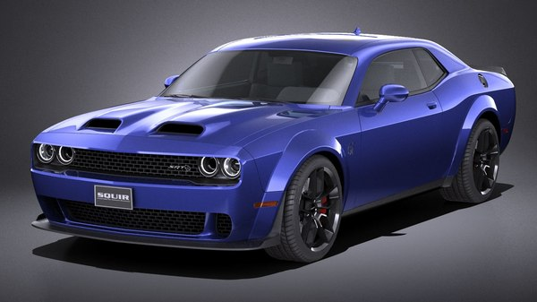 dodge challenger srt model