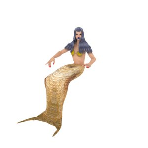 mermaid 3D model