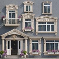 doors windows style modern 3D