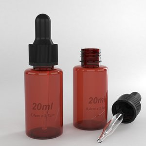 bottle 20ml 3D model