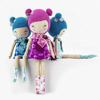 3d model stuffed doll
