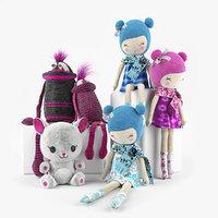 toys cuddly 02 3D model