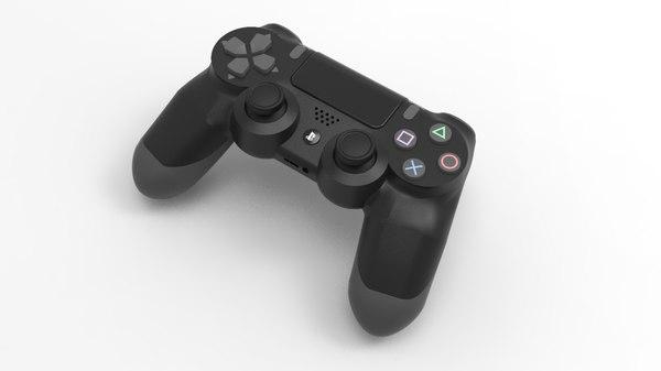 sony dualshock 4 controller 3D