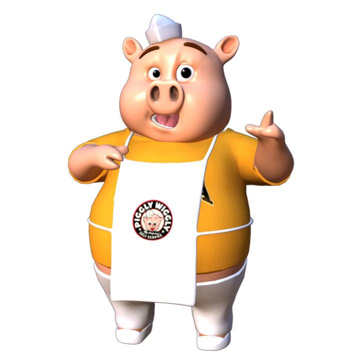 Piggly Rig Maya 2018 character rig