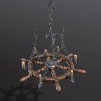 3D chandelier pirate
