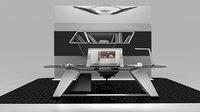 Modern desk concept