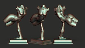 3D elevated printable print