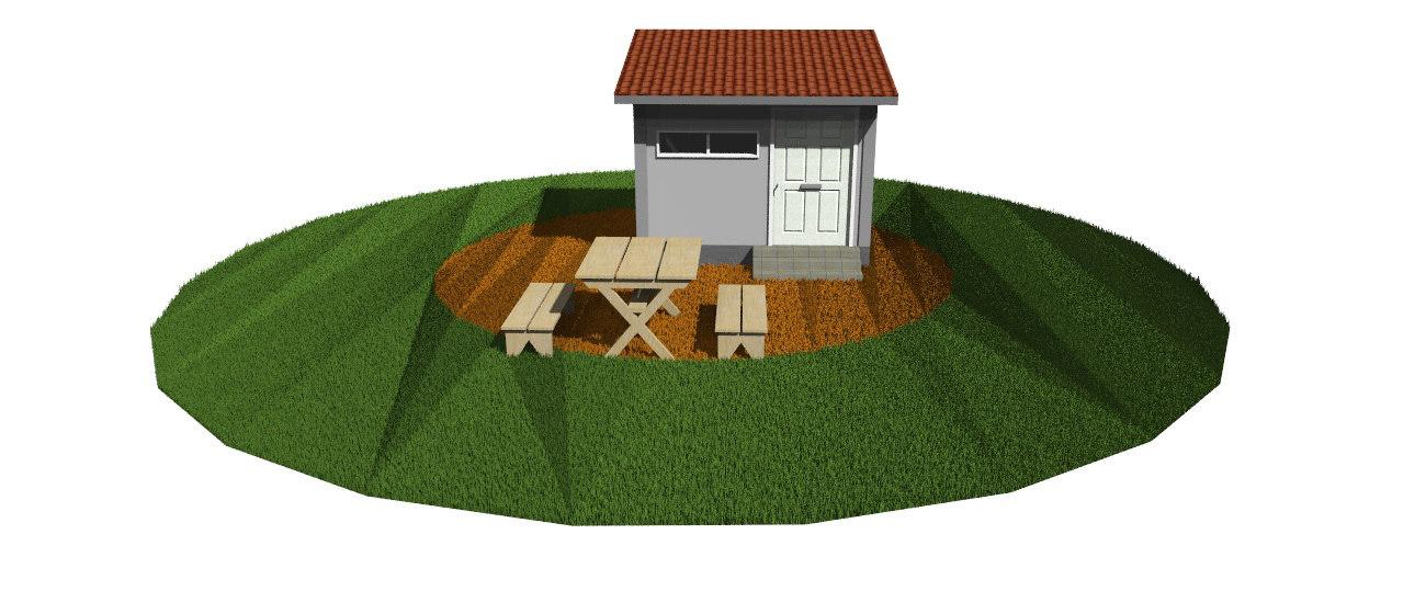 warehouse battleground 3D model