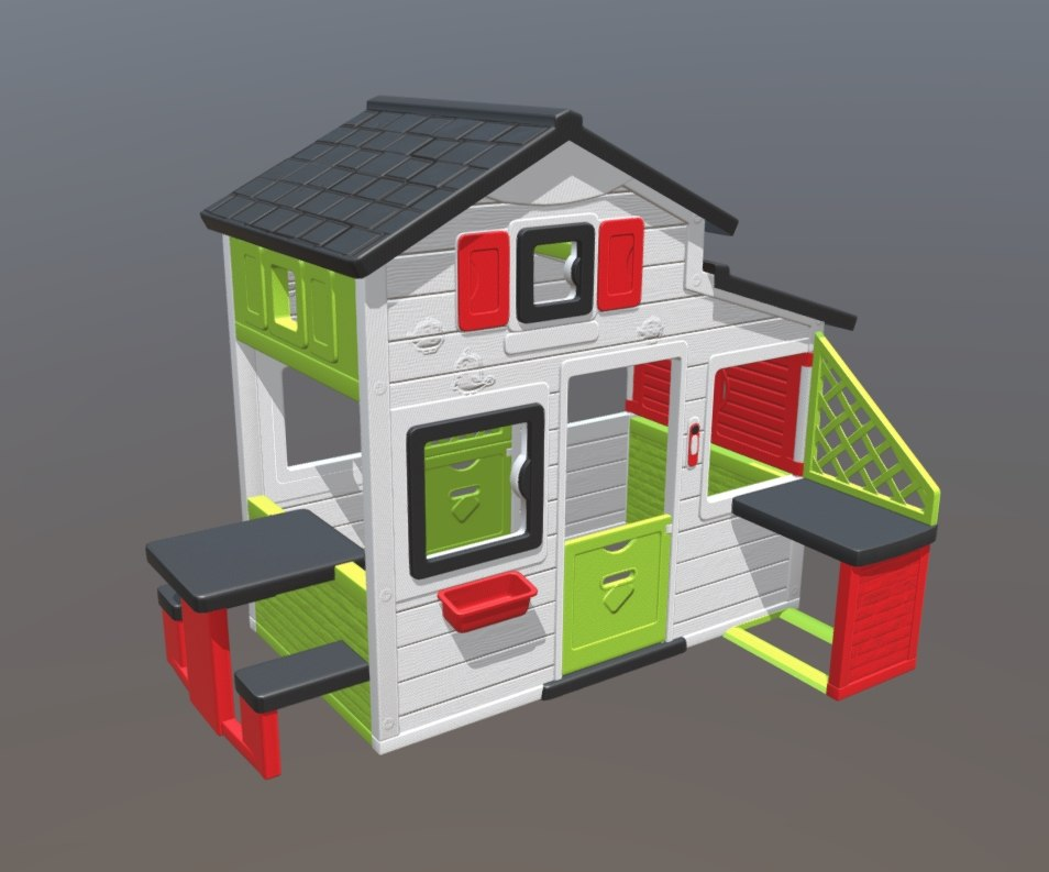 kid playhouse 3D model