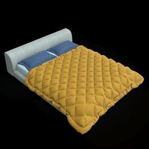 3D moroso lowland bed model