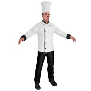 chef hat model