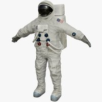 3D nasa astronaut model