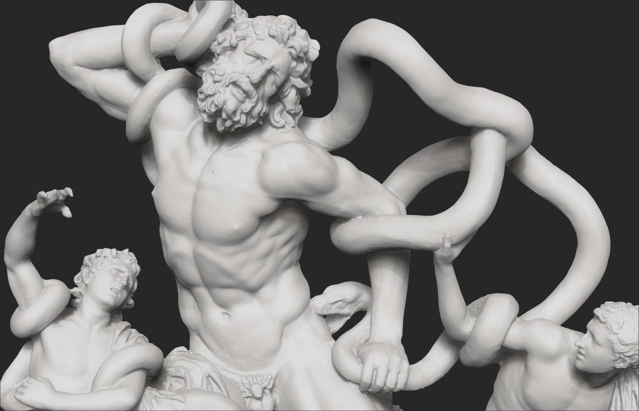 3D scan cnc model