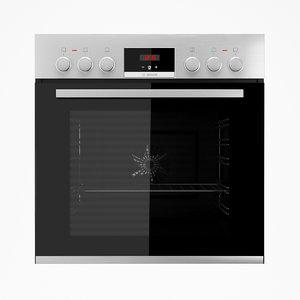 oven bosch hef514bs0r 3D model