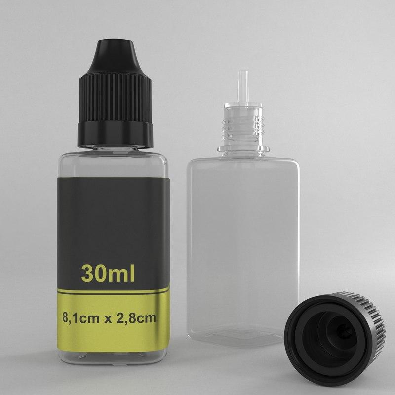 30ml bottle type3 3D