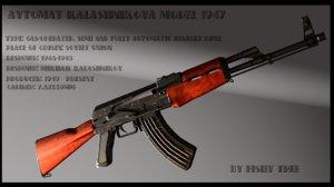 ak-47 assault model