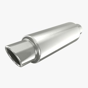 3D exhaust pipe 03 model