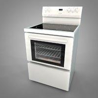 3D frigidaire electric range l034 model