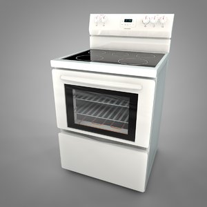 3D frigidaire electric range l034 model
