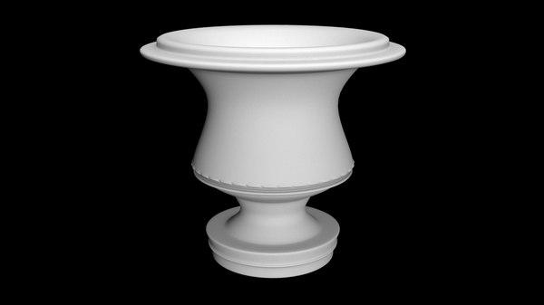 3D pot model