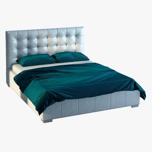 3D model bed signal calama