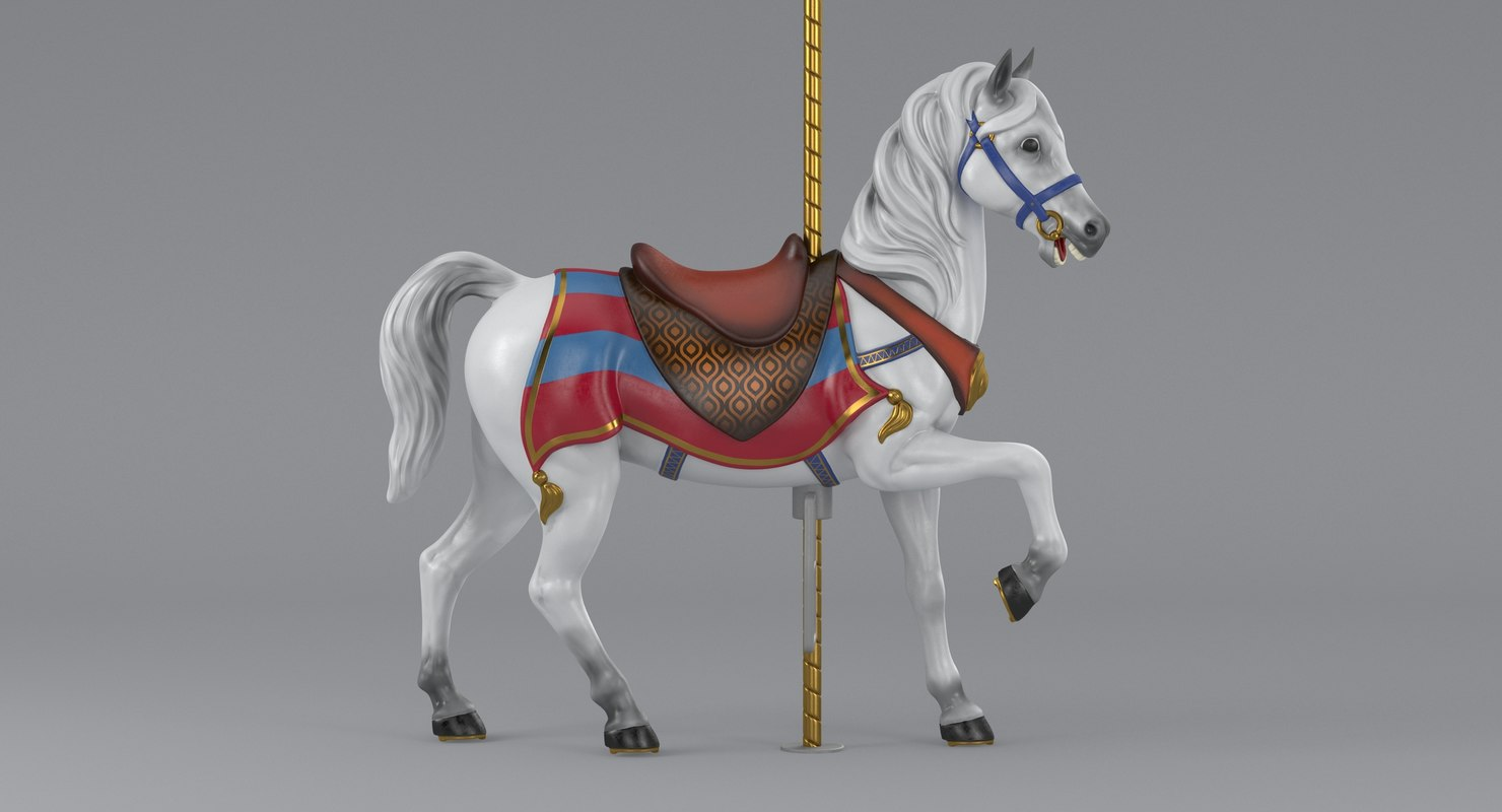 carousel horse model