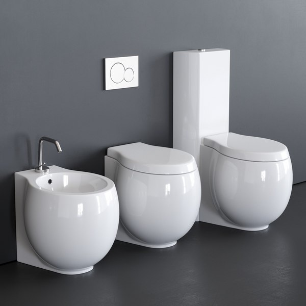 toilet planet 8401 bidet 3D