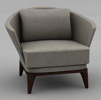 3D armchair amy beilefelder werkstatten