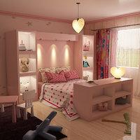 kids room 9 3D model