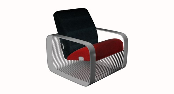 3D chair loft model