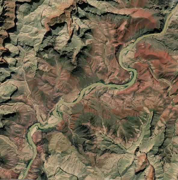 3D colorado river