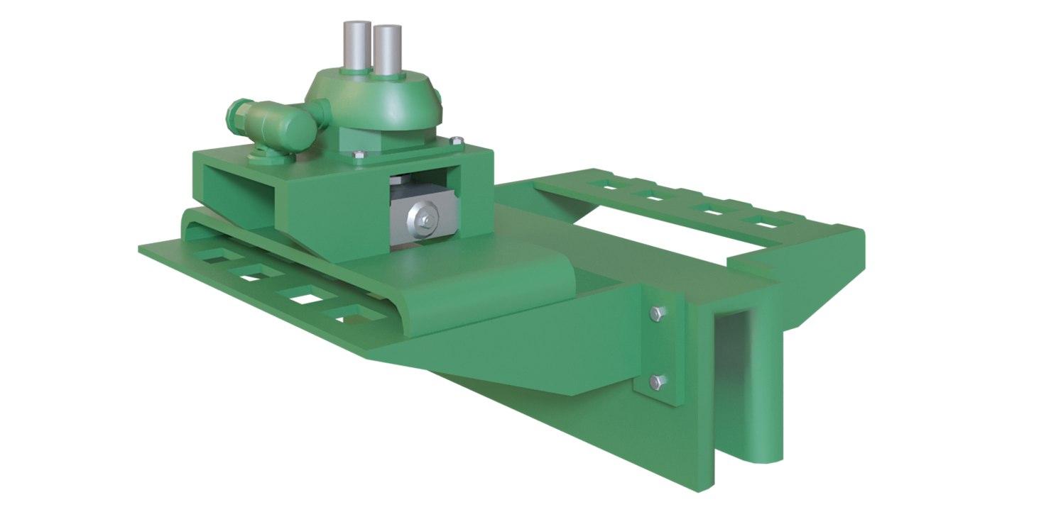 3D model metal sheet stamping machine