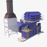gas compressor gpa 12 3D model