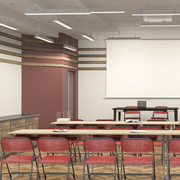 3D model meeting classroom