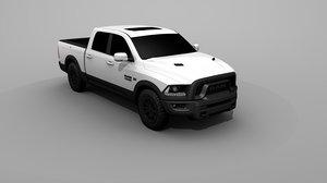 3D 2017 2500 dodge model