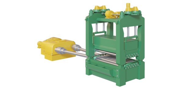 3D metal sheet rolling machine