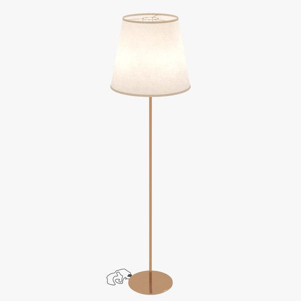 3D model lamp light shade