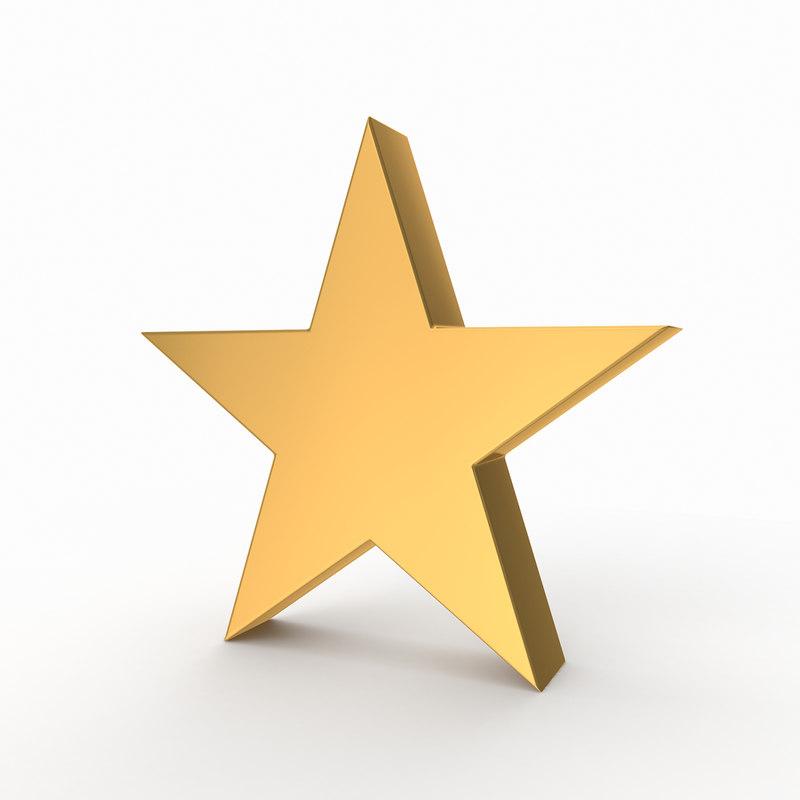 stars 3D model