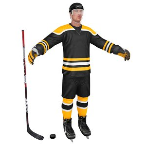 hockey player 3D