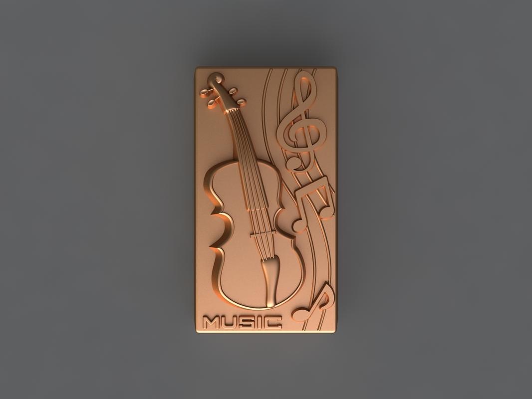 cello mold hand 3D model