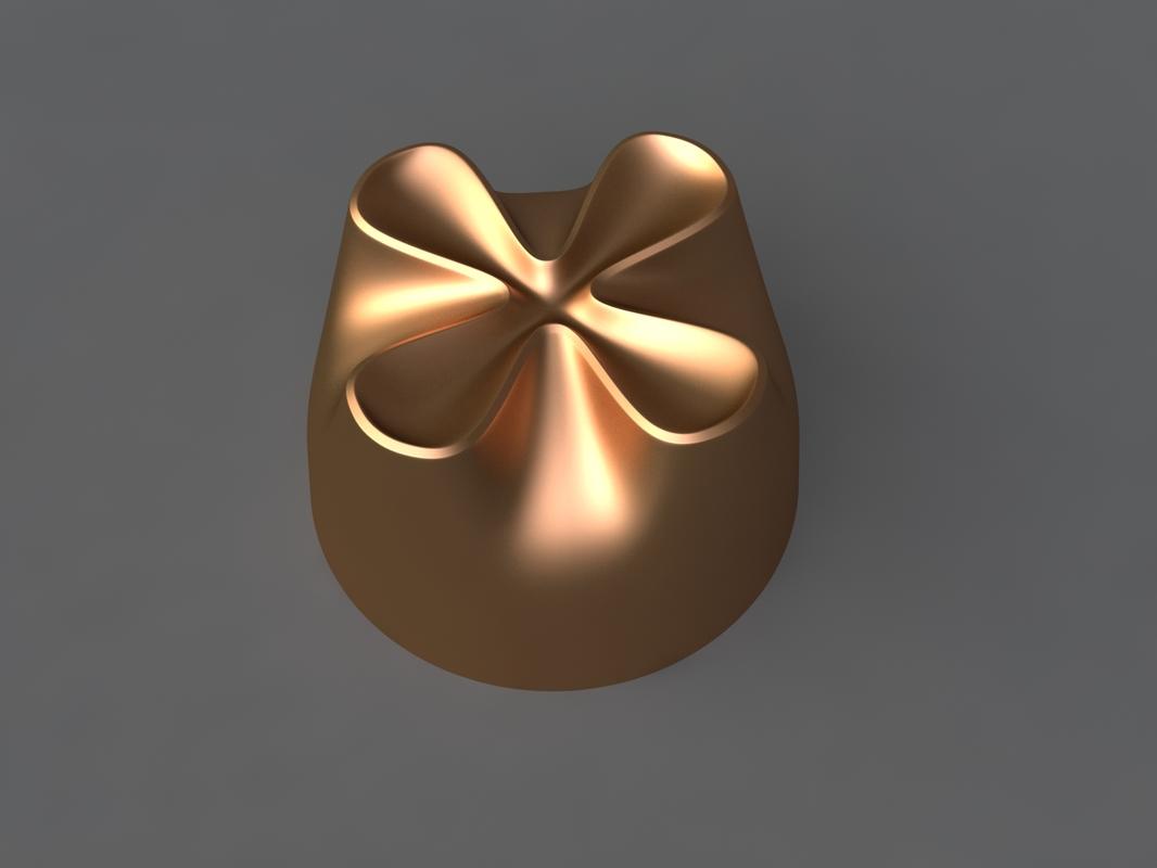 3D chocolate mold hand