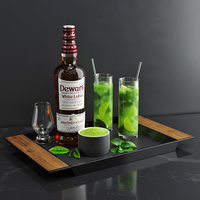 3D matcha cocktail set model