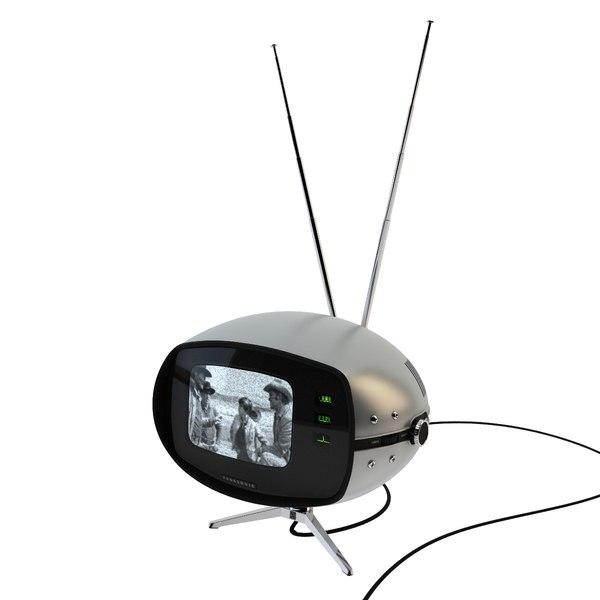 panasonic orbitel tr-005 television 3D model